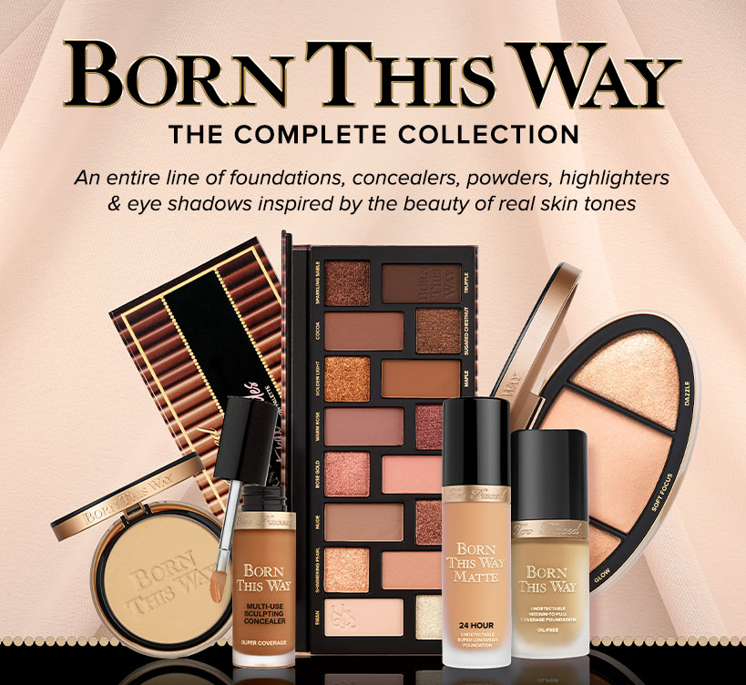 Born This Way Makeup Collection Toofaced