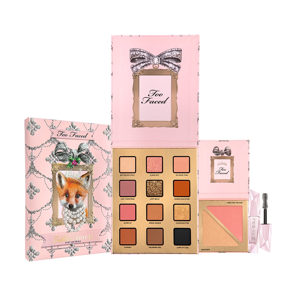 Enchanted Beauty Foxy Neutrals Makeup