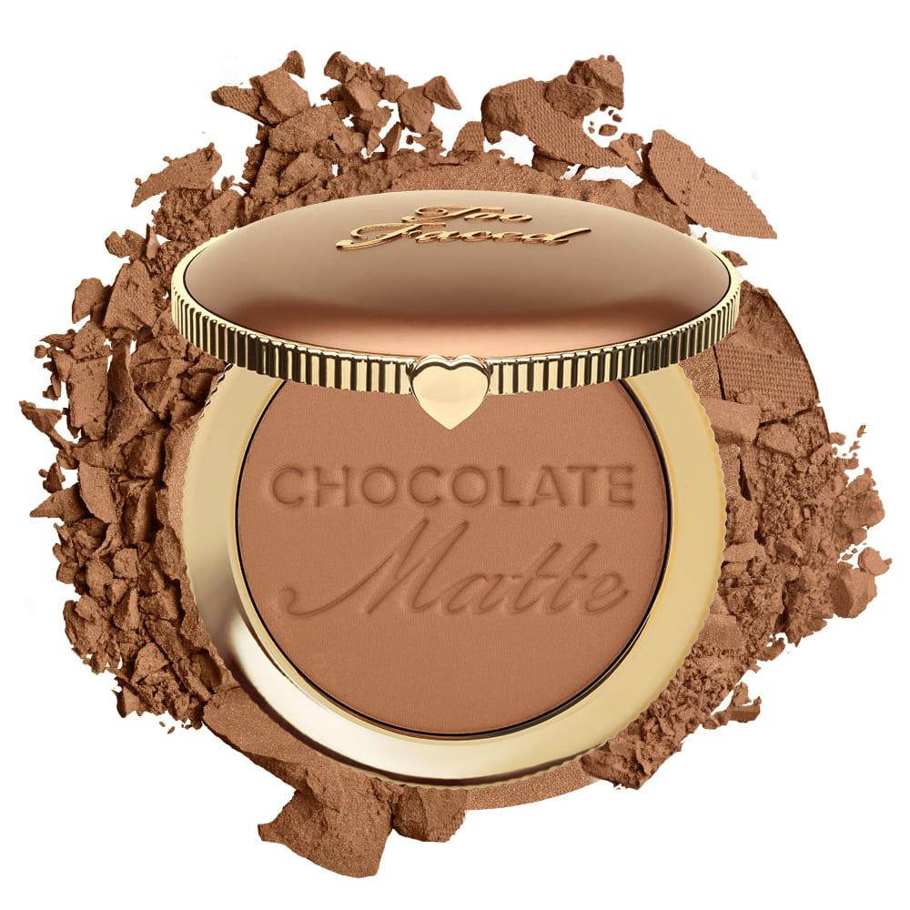 Matte Bronzer Chocolate Soleil Bronzing Powder Too Faced