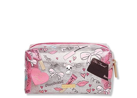 Too Faced X Skinnydip London Makeup Bag