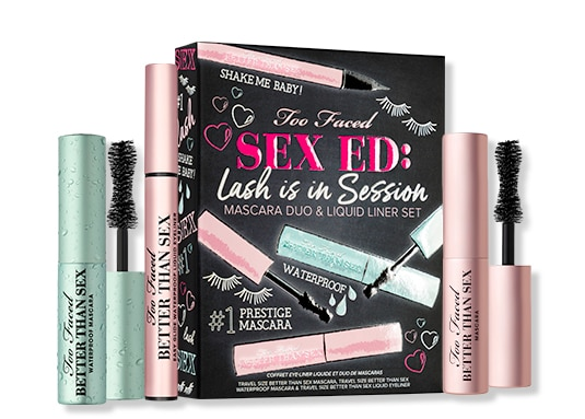 Sex Ed: Lash is in Session Mascara & Liner Set